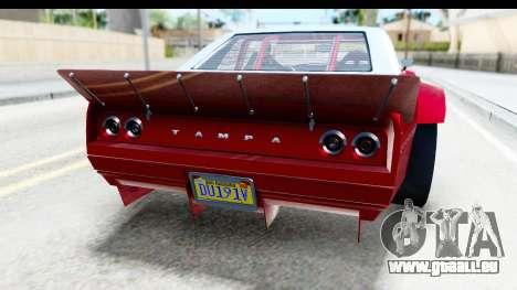 GTA 5 Declasse Tampa Drift IVF pour GTA San Andreas salon