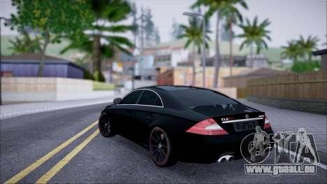 Mercedes-Benz Cls 630 pour GTA San Andreas laissé vue