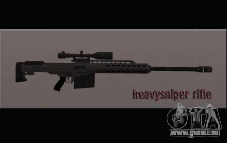 Heavysniper rifle pour GTA San Andreas