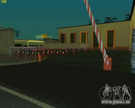 Die Schaltung, wie in der Fahrschule für GTA San Andreas zweiten Screenshot