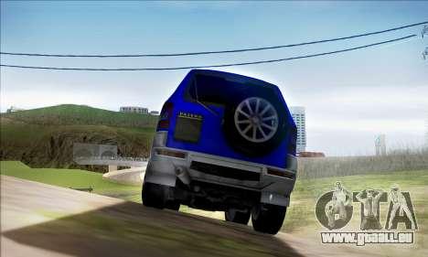 Mitsubishi Pajero 3 Beta für GTA San Andreas rechten Ansicht