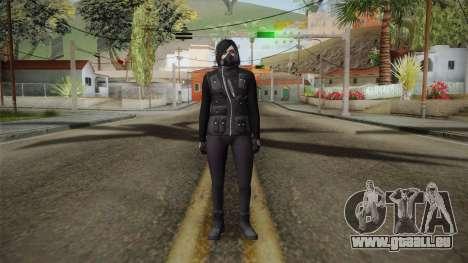GTA 5 Heists DLC Female Skin 1 für GTA San Andreas zweiten Screenshot