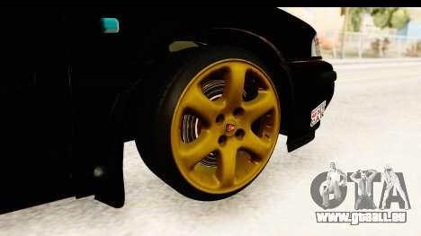 Rover 220 Kent Edition pour GTA San Andreas vue arrière