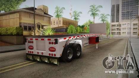 Trailer Americanos v1 pour GTA San Andreas laissé vue