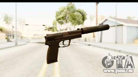 CS:GO - USP Silenced pour GTA San Andreas deuxième écran