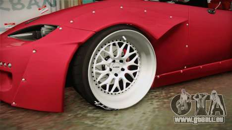Mazda MX-5 2016 Hachiraito für GTA San Andreas Rückansicht