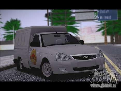 Lada Priora Budka pour GTA San Andreas