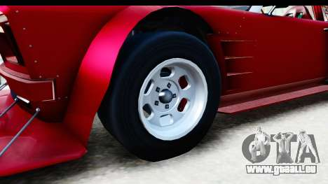 GTA 5 Declasse Tampa Drift IVF für GTA San Andreas Rückansicht