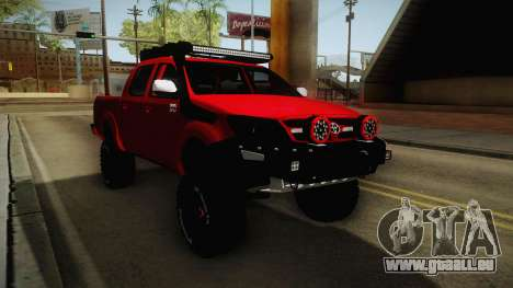 Toyota Hilux 2010 Venezolana de Off Road für GTA San Andreas rechten Ansicht