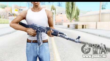 AK-47 Elite Build pour GTA San Andreas troisième écran