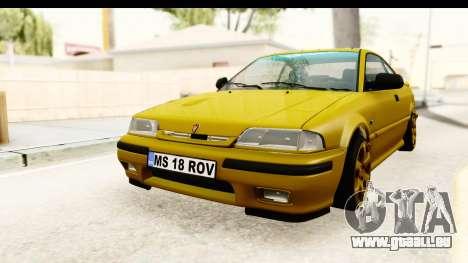 Rover 220 Gold Edition pour GTA San Andreas sur la vue arrière gauche