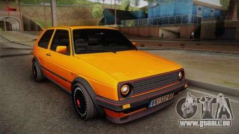 Volkswagen Golf Mk2 GTI .ILchE STYLE. pour GTA San Andreas