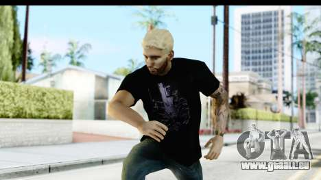 Blonde Messi pour GTA San Andreas