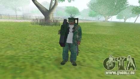 BAZUKA RLX-9157 für GTA San Andreas dritten Screenshot