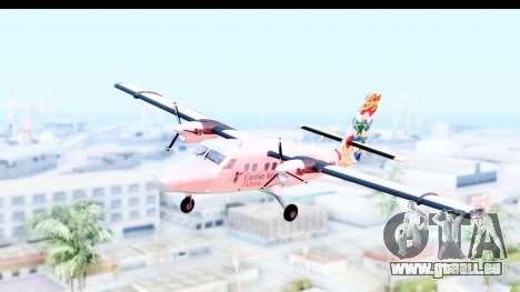 DHC-6-400 Cayman Airways für GTA San Andreas zurück linke Ansicht