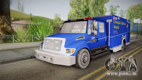 International Terrastar Ambulance 2014 für GTA San Andreas