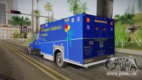 International Terrastar Ambulance 2014 für GTA San Andreas linke Ansicht