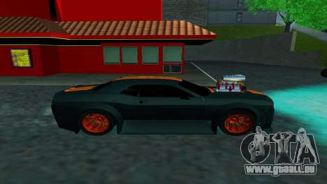DODGE CHALLENGER SRT8 POWER für GTA San Andreas linke Ansicht