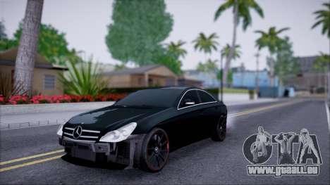 Mercedes-Benz Cls 630 pour GTA San Andreas vue intérieure