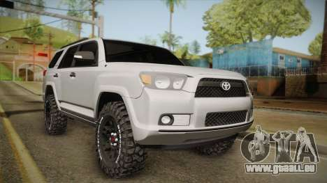 Toyota 4runner 2010 pour GTA San Andreas