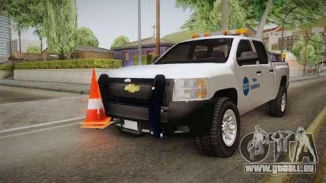 Chevrolet Silverado 2009 SA DOT pour GTA San Andreas vue de droite