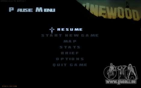New Fonts pour GTA San Andreas deuxième écran