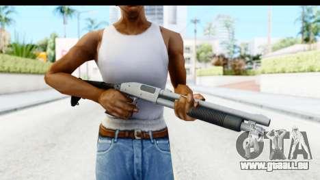 Tactical Mossberg 590A1 Chrome v2 pour GTA San Andreas troisième écran