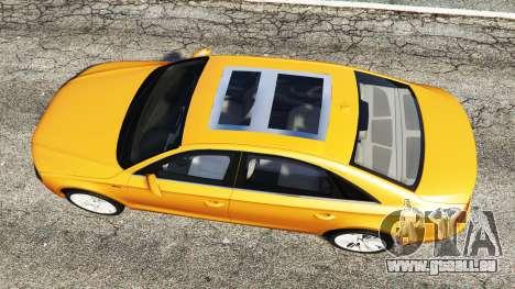 GTA 5 Audi A8 L (D4) 2013 [replace] Rückansicht