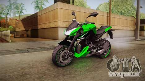 Kawasaki Z1000 für GTA San Andreas