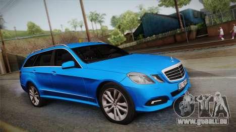 Mercedes-Benz W212 E-class pour GTA San Andreas