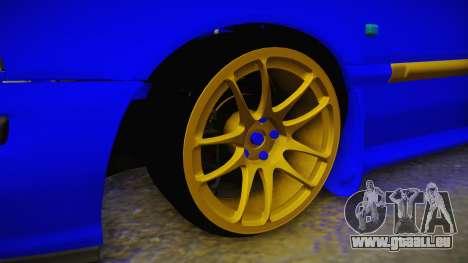 Rover 220 Bozgor Edition für GTA San Andreas Rückansicht