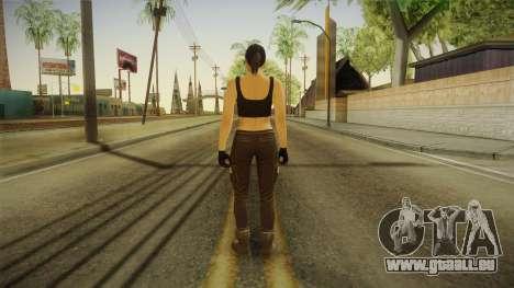 GTA 5 Heists DLC Female Skin 2 pour GTA San Andreas troisième écran