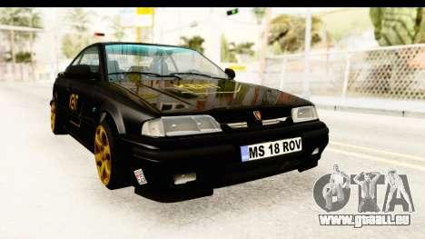 Rover 220 Kent Edition pour GTA San Andreas vue de droite