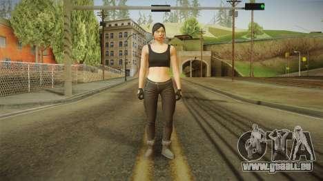 GTA 5 Heists DLC Female Skin 2 pour GTA San Andreas deuxième écran