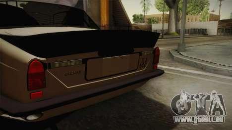 Jaguar Broadspeed XJC für GTA San Andreas zurück linke Ansicht