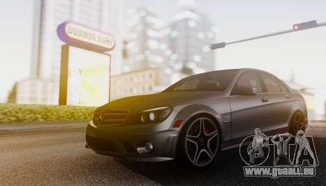 Mercedes-Benz C63 AMG w204 pour GTA San Andreas