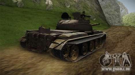 T-62 Desert Camo v1 pour GTA San Andreas laissé vue