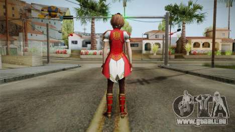 Dynasty Warriors 8 - Sun ShangXiang Remade für GTA San Andreas dritten Screenshot