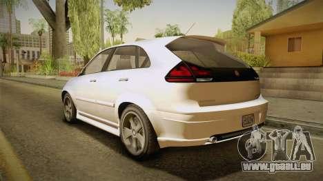 GTA 5 Emperor Habanero IVF für GTA San Andreas linke Ansicht