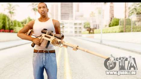 Cheytac M200 Intervention Tan für GTA San Andreas dritten Screenshot