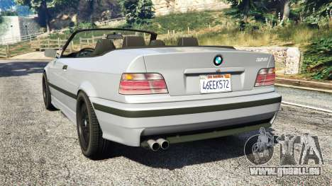 GTA 5 BMW 328i (E36) M-Sport [replace] hinten links Seitenansicht