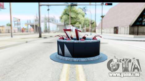 Han Farhan Cake Grenade für GTA San Andreas zweiten Screenshot