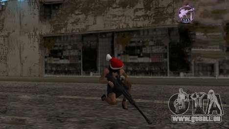 Heavysniper rifle pour GTA San Andreas deuxième écran