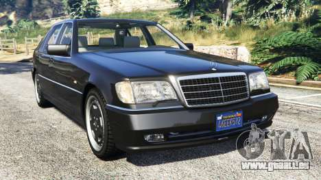 Mercedes-Benz W140 AMG [replace] pour GTA 5