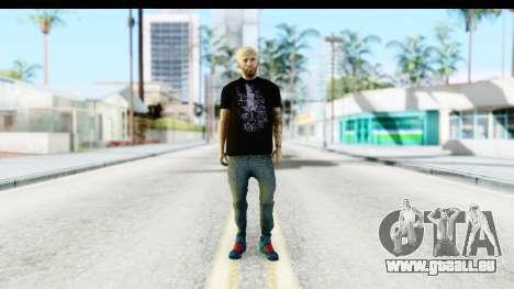 Blonde Messi für GTA San Andreas zweiten Screenshot