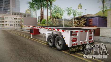 Trailer Americanos v1 pour GTA San Andreas vue de droite