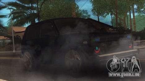 Lada Niva pour GTA San Andreas laissé vue