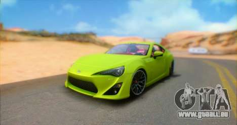 Toyota GT86 2015 Stance pour GTA San Andreas