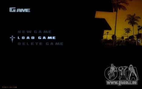 New Fonts pour GTA San Andreas troisième écran