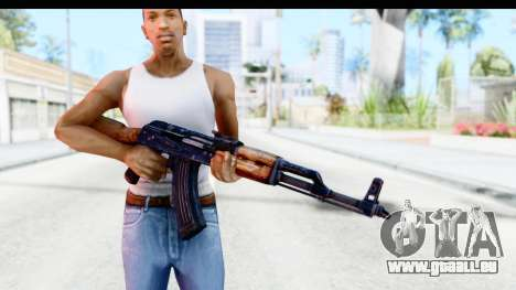 Kalashnikov AKM für GTA San Andreas dritten Screenshot